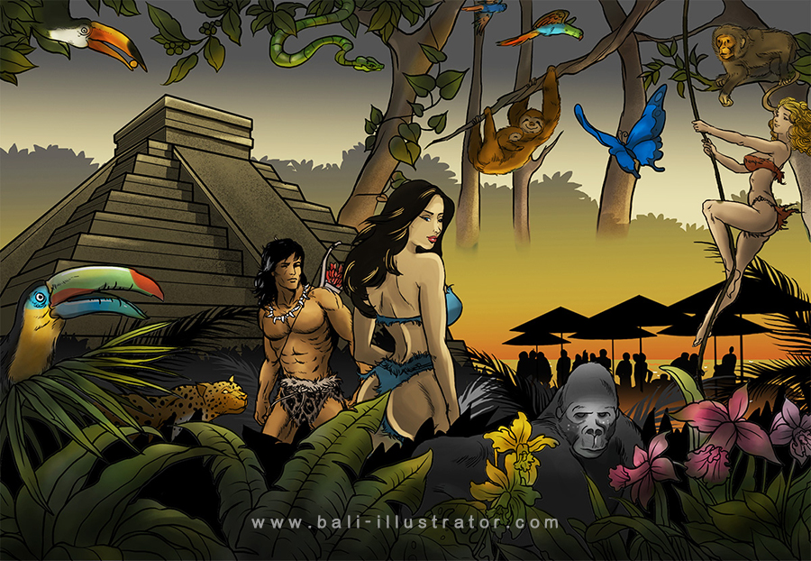 bali-illustrator-jungle