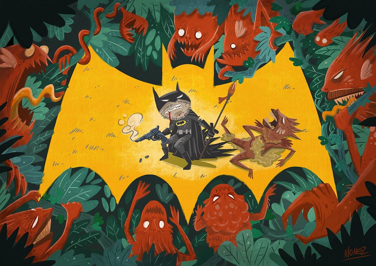 Batman vs Reds